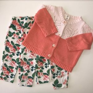 Tucker + Tate Outfit Set with 2 Pants & 1 Sweater